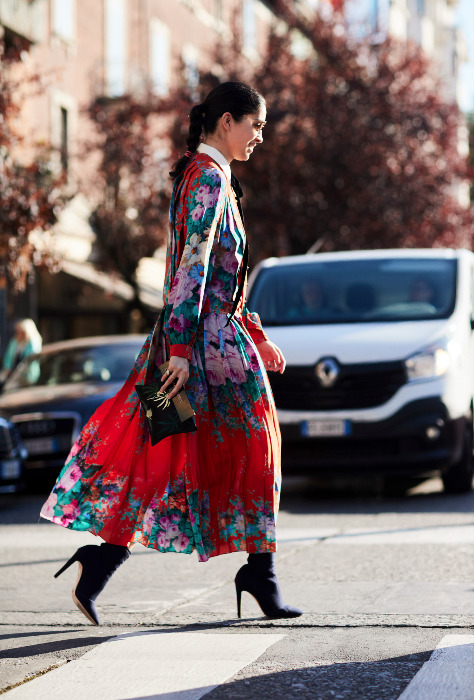 Semaine de mode de Milan: «street style» et dolce vita