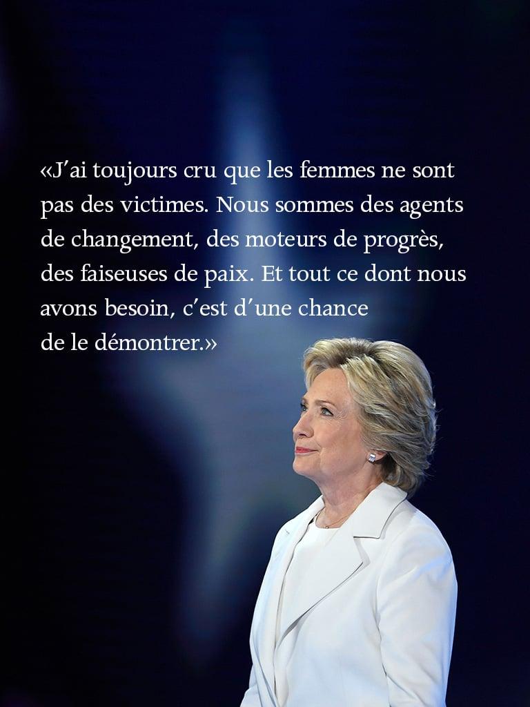Hillary Clintonen 12 citations percutantes