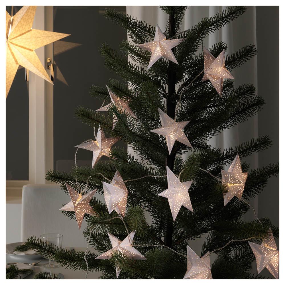 """<h2><a href=""""http://www.ikea.com/ca/fr/catalog/products/30365965/"""" target=""""_blank"""">Étoiles décoratives pour guirlande</a>, 10 $ les 12</h2>"""
