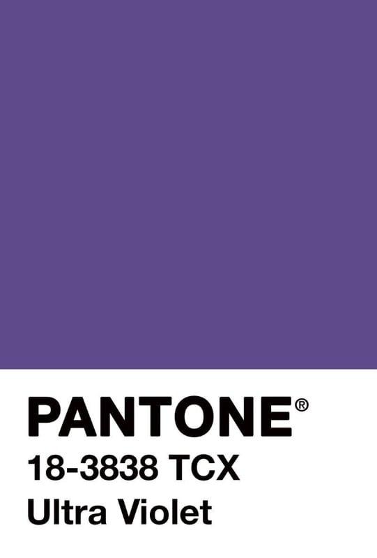 La couleur Pantone Ultra Violet: encore et encore!