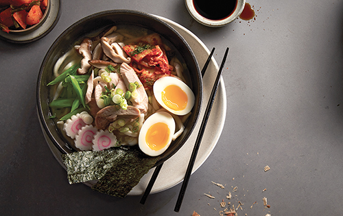 Soupe udon