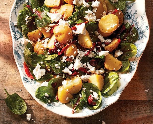 Salade de pommes de terre àla grecque