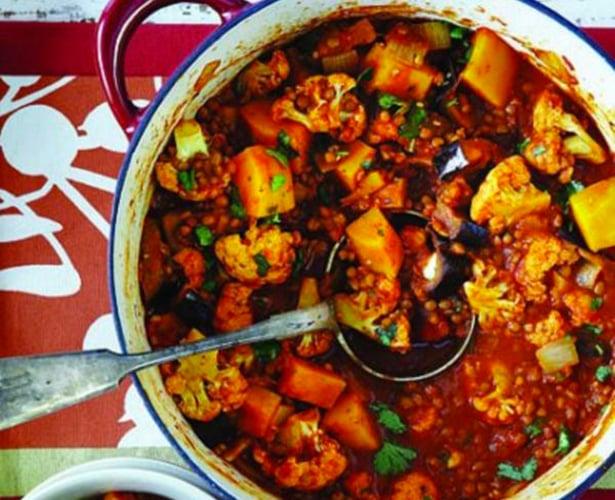 Ragoût de légumes à l'indienne