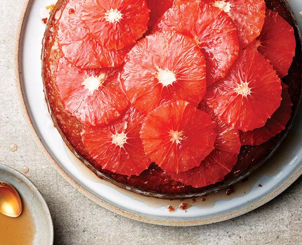 Gâteau au pamplemousse et à l'huile d'olive