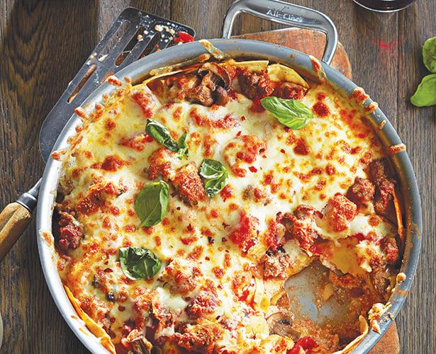 Lasagne en casserole