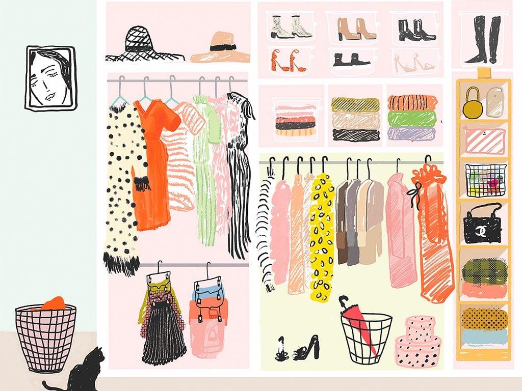 Grand Menage Par Ou Commencer comment faire un vrai ménage de son garde-robe - châtelaine