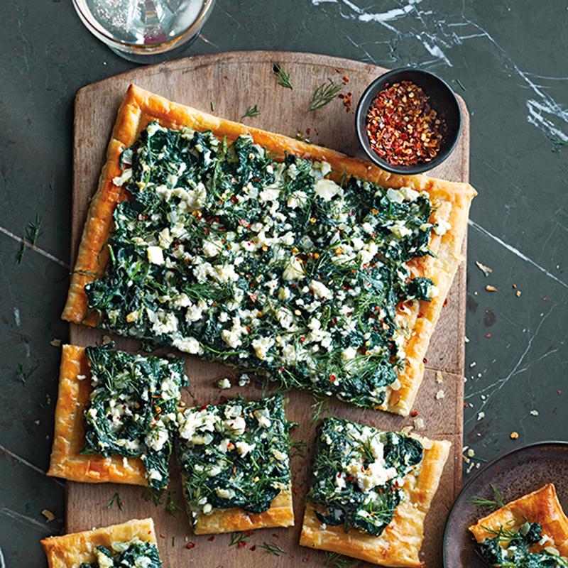 Spanako-pizzas