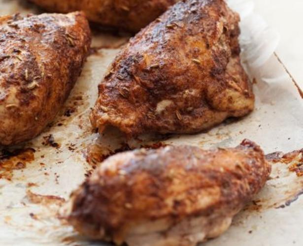Poitrines de poulet aux cinq épices