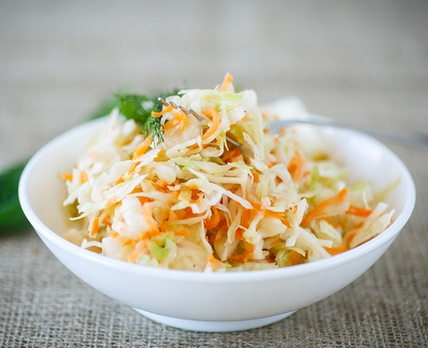 Salade de chou crémeuse classique