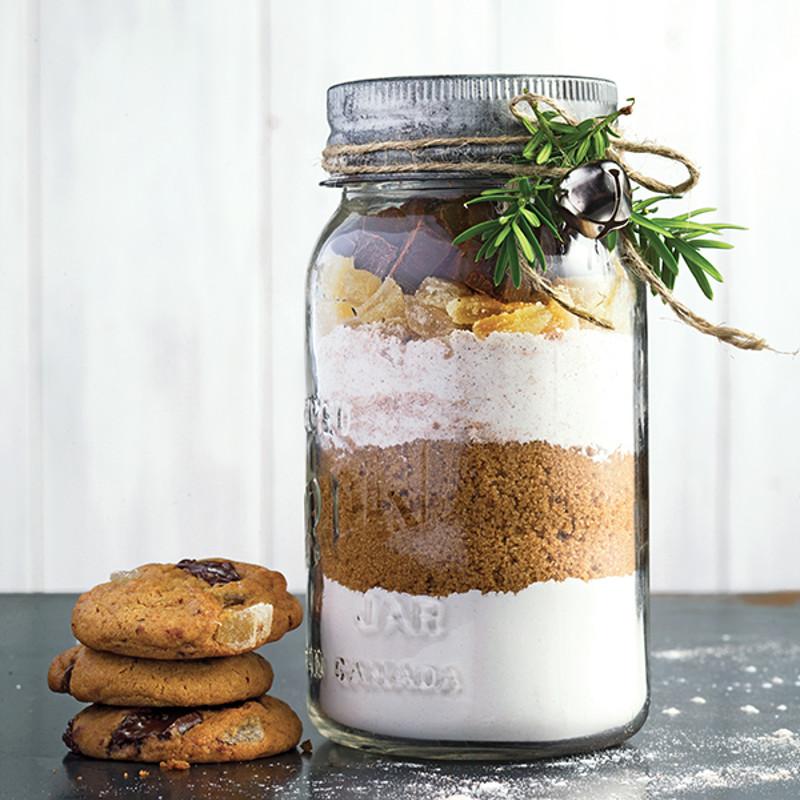 Biscuits au chocolat et au gingembre