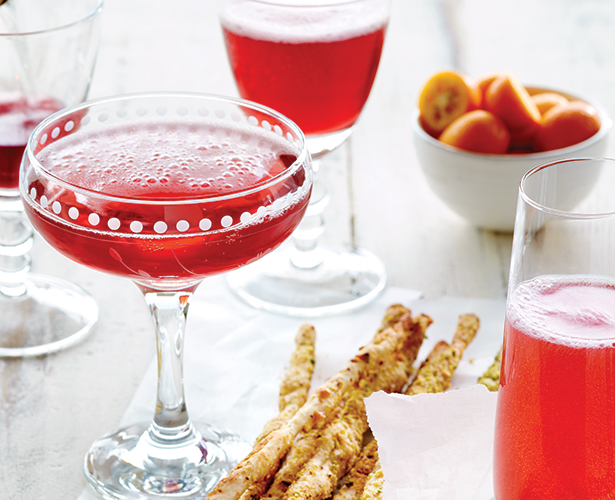 Cocktail bulles et grenade
