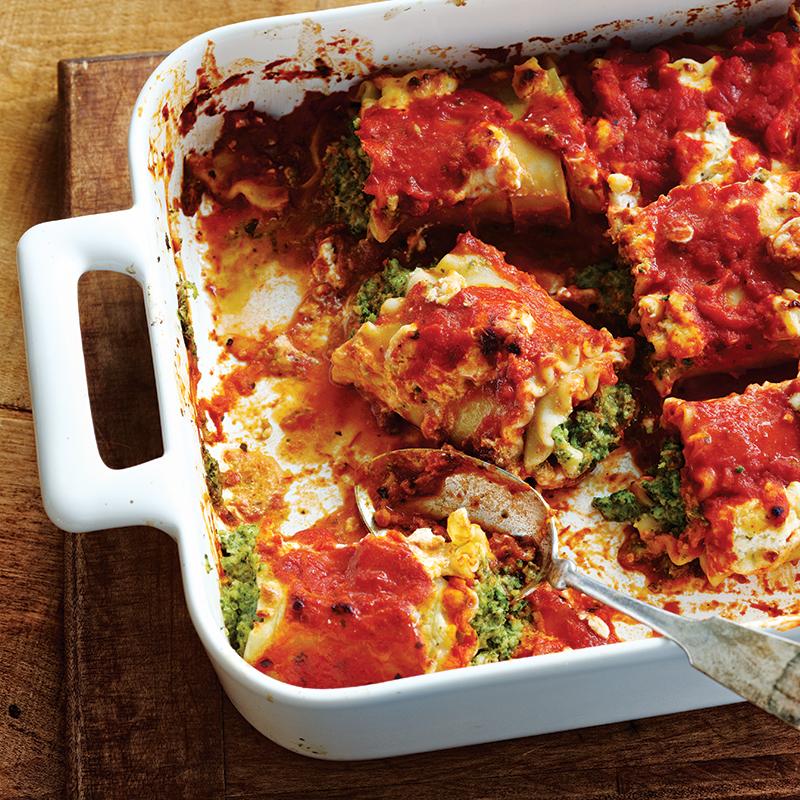 Roulades de lasagne