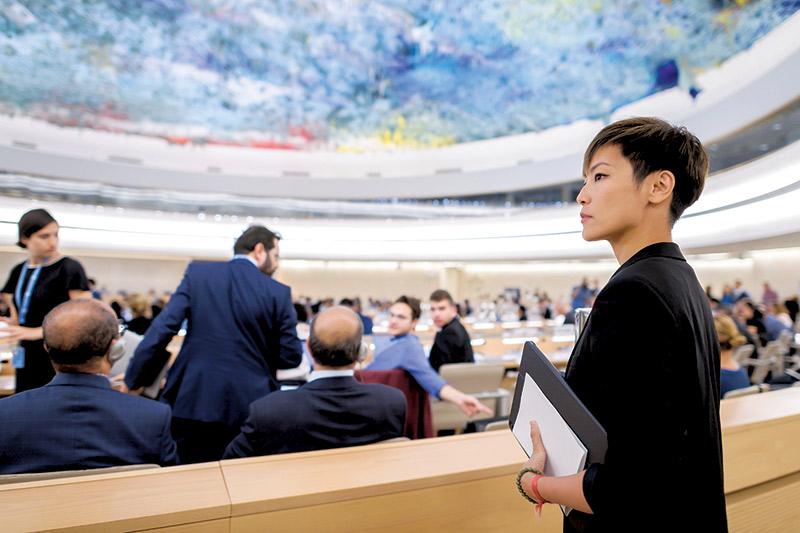 Denise Ho à l'ONU