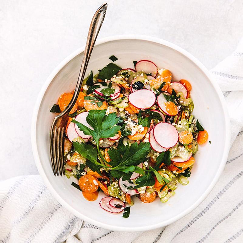 Salade d'émincé de céleri