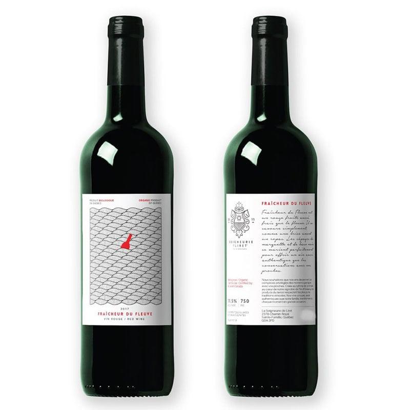 fraicheur du fleuve vin