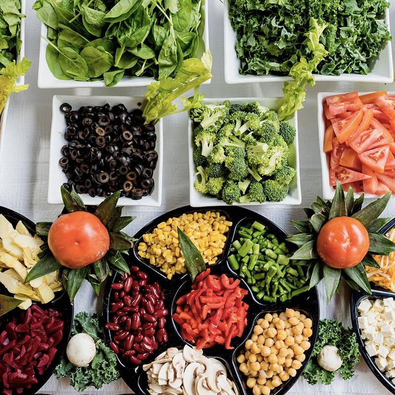 1. Nettoyer le système digestif à l'aide d'aliments exempts de levures