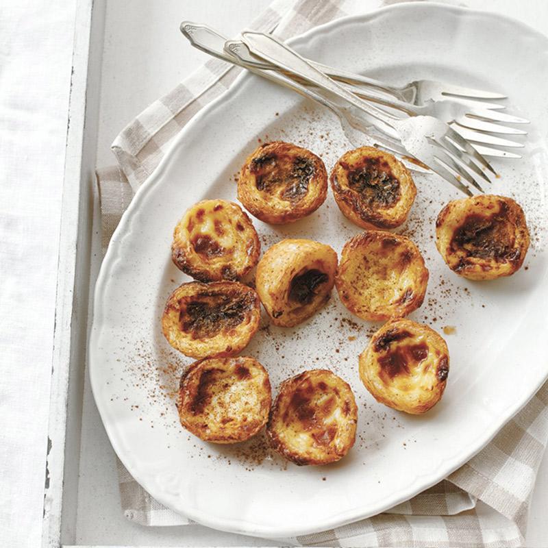 Tartelettes portugaises (pastéis de nata) à l'érable, d'Helena Loureiro