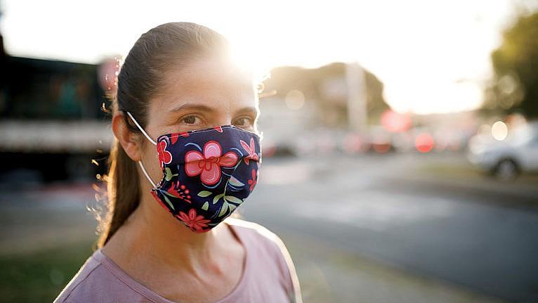 Entretien masque en tissu
