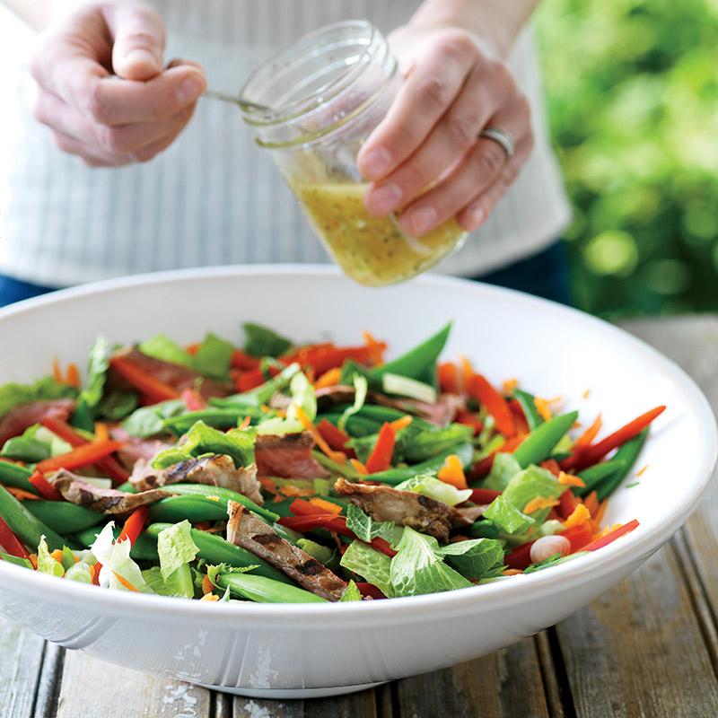 Salade de bœuf à la vietnamienne